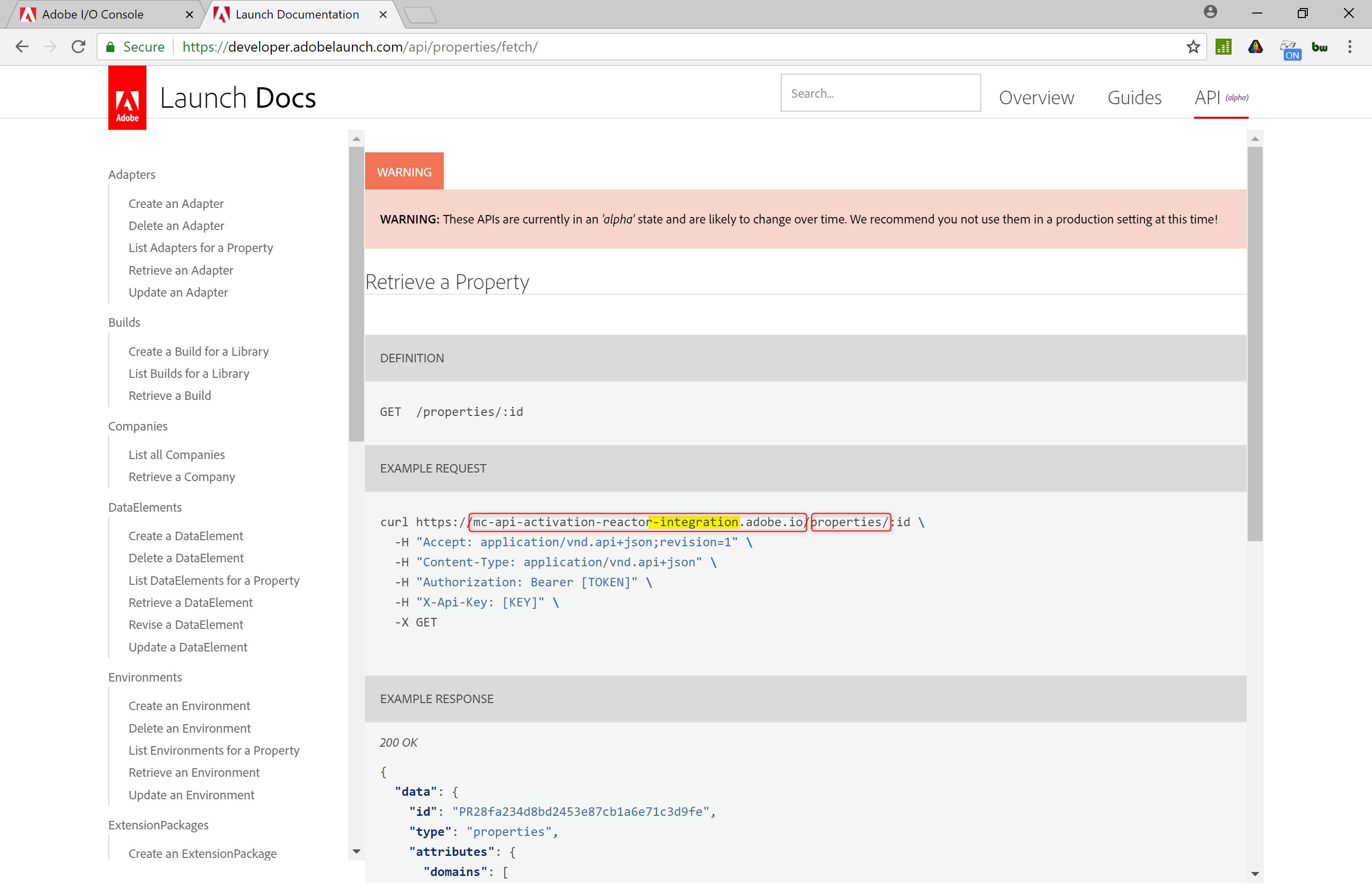 Java Bearer Token Example