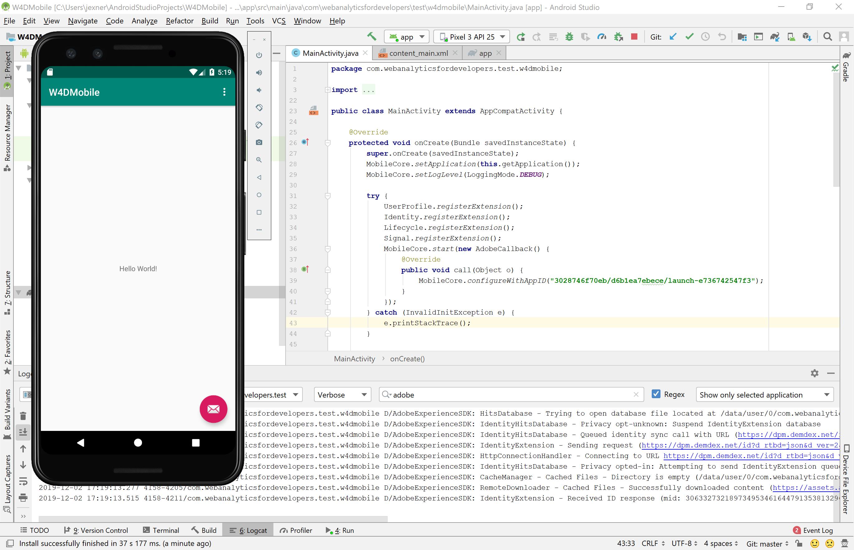 Adobe Experience Platform Mobile SDKs – Prerequisites